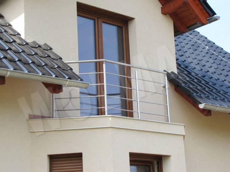 Najnowsze Balkony ze stali nierdzewnej WV15